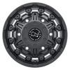 Black Rhino Destroyer- Matte Black Wheels (Front)
