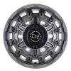 Black Rhino Destroyer- Matte Gunmetal Wheels