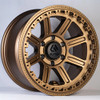 Alpha Equipped Xcommander Wheels, 17 x 9