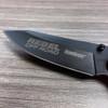 Rebel Off Road Engraved Kershaw Barricade 3.5 inch Pocket Knife