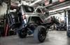 MCE Fenders Rear OE Width, OE Finish Jeep JK - FFJKG2-R