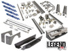 "GENRIGHT OFFROAD - JEEP TJ LEGEND EXT SUSPENSION PACKAGE (6-7"" STRETCH)"