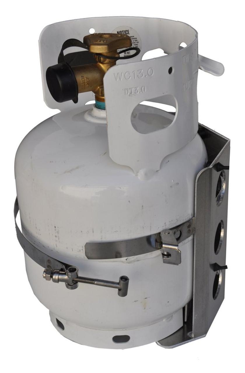 Propane Tank Bracket 5 Lb Manchester 1 2 Gallon Lp Bottle 8 Inch Diameter Power Tank