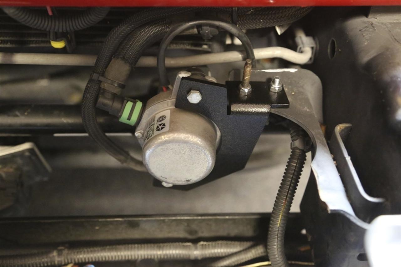 Rock Hard 4x4 Vacuum Pump Relocation Kit For Jeep Wrangler Jk 2