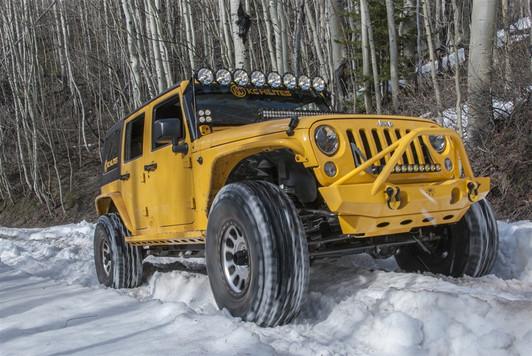 Kc Hilites Cyclone Led Rock Light Kit For Jeep Wrangler Jk