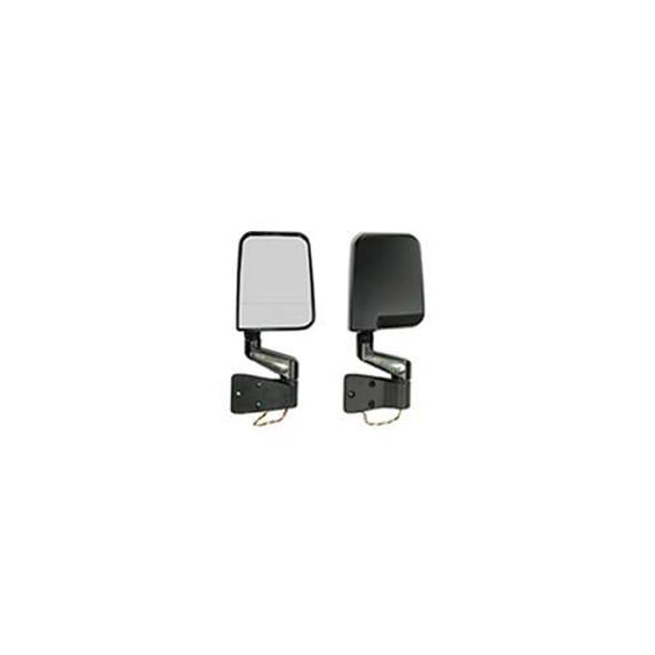 Rugged Ridge Mirror Led DL-F Kit Bl