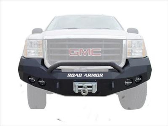 Road Armor Front Stealth Winch Bumper, Pre-Runner Guard, Satin Black 3