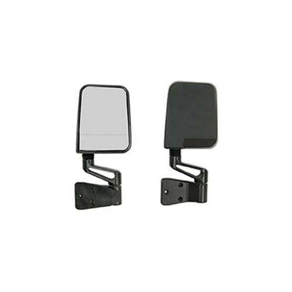 Rugged Ridge Mirror Kit DL-Focal Bl