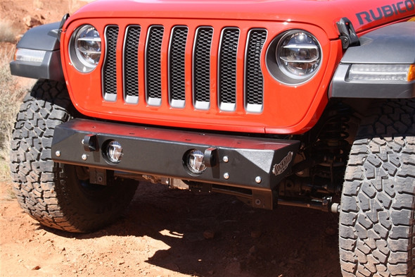 ROCK HARD 4X4 - FREEDOM SERIES GRILLE WIDTH FRONT BUMPER FOR JEEP WRANGLER JL