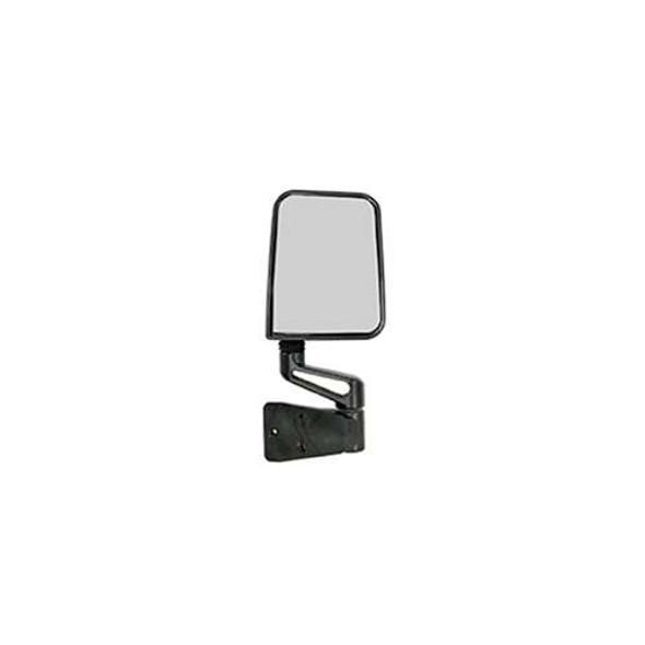 Rugged Ridge Door Mirror BLK, RH, 87-02 Jeep Wrangler (YJ/TJ)