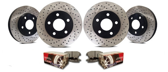 Restraint Complete Brake Upgrade for Jeep Wrangler JK 2007-2016 (D60/D70)
