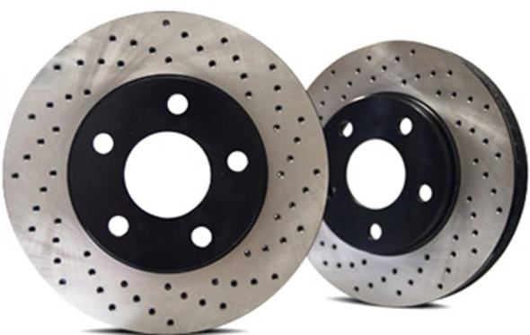 Restraint Front Rotor Upgrade For Jeep Wrangler JK (Pair)
