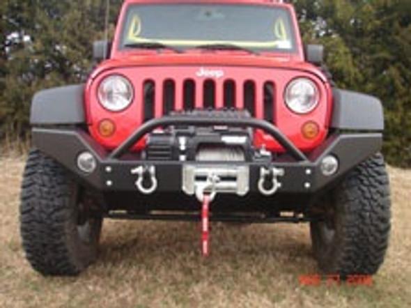 Rock Hard 4X4 Full Width Front Bumper Jeep Wrangler JK