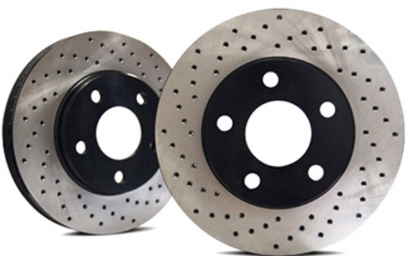 Restraint Rear Rotor Upgrade For Jeep Wrangler JK (Pair)