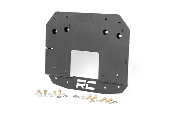 ROUGH COUNTRY JEEP SPARE TIRE RELOCATION BRACKET (2018 WRANGLER JL)