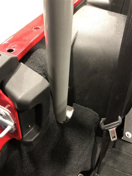 ROCK HARD 4X4 BOLT-IN ULTIMATE SPORT CAGE C-PILLAR BRACE KIT FOR JEEP WRANGLER JL 4DR 2018 - CURRENT [RH-90702]