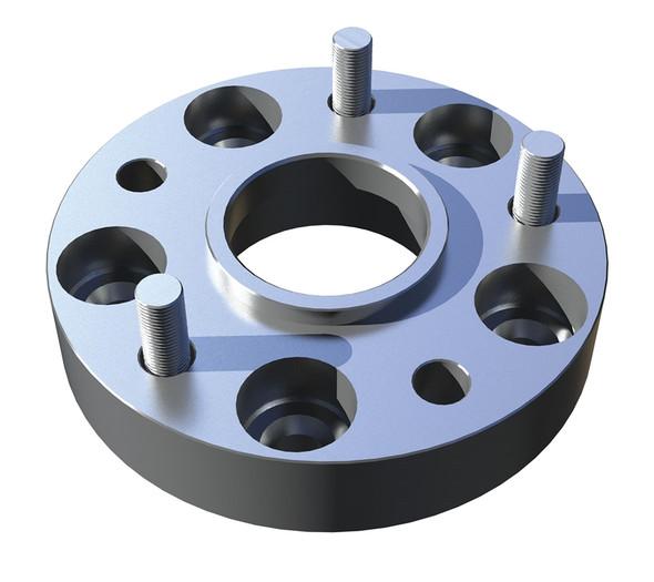 JK/JKU Alpha HD Hinged Spare Tire Carrier Wheel Spacer Kit