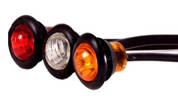 3/4 LED, Compact Marker Lamp, Grommet Mounted (Each)