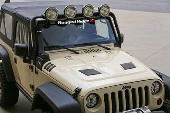 Rugged Ridge Vented Hood 07-14 JK