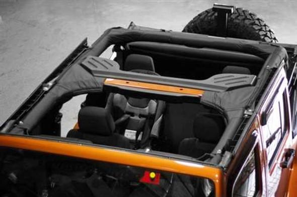 Rugged Ridge Cover Rollbar Poly JK 4DR