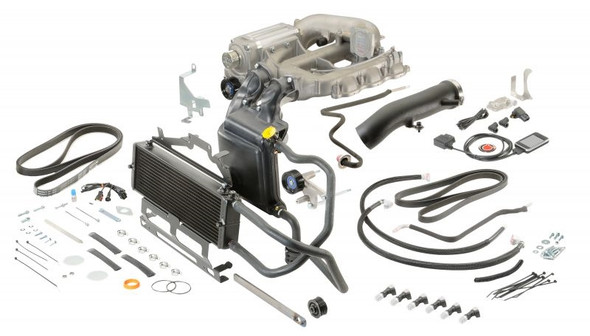 Sprintex Superchargers Intercoolered Supercharger Kit (2007-2011 Wrangler JK with 3.8L)