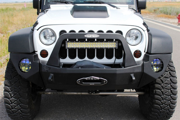 Rock-Slide Engineering Jeep JK Rigid Full Front Bumper / Complete / Modular