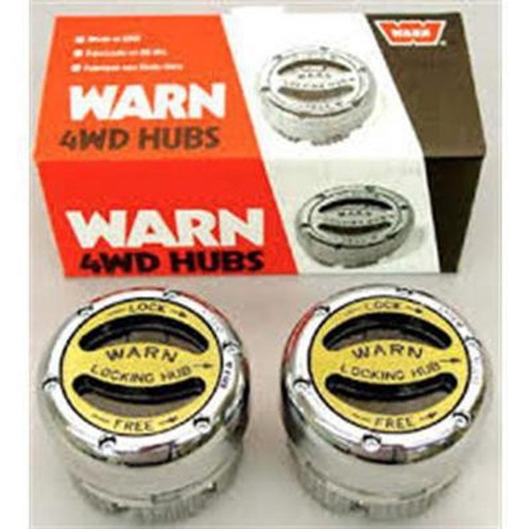 Warn Premium Manual Locking Hubs (Chrome ) - 20990