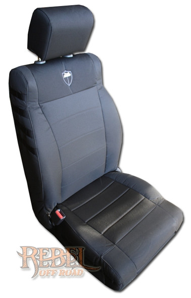 BARTACT 2007-2014 Jeep Wrangler JK Seat Covers Front Pair