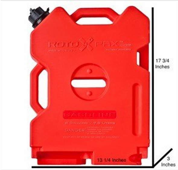 RotoPAX 2 Gallon Gasoline Pack - RX-2G