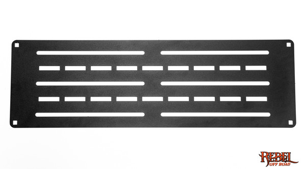 XPLOR Bed Rack Flat Carrier Plate - ROE-JT-PAM-BLK