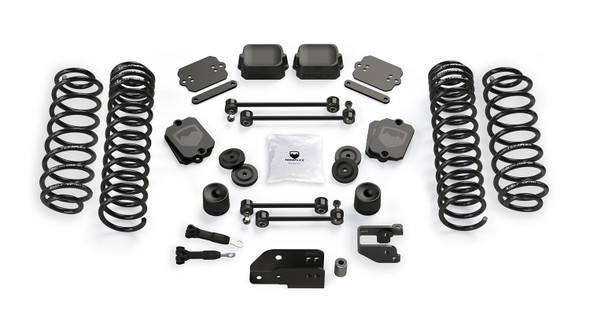 "Teraflex JL 4dr: 3.5"" Coil Spring Base Lift Kit - No Shock Absorbers - 1355000"