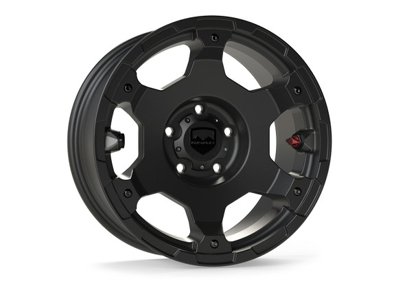 "Teraflex Nomad Off-Road Wheel – Base – 5x5"" – Metallic Black – Each - 1056050"