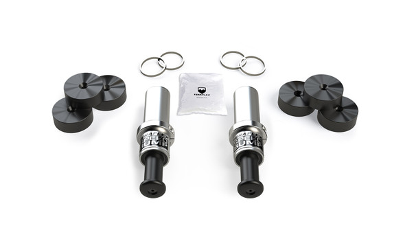 Teraflex Wrangler JL & Gladiator JT 4.5in. Lift SpeedBump Front Bump Stop Kit, 1958325
