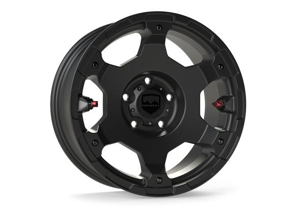 "Teraflex Nomad Off-Road Wheel – Deluxe – 5x5"" – Metallic Black – Each - 1056059"