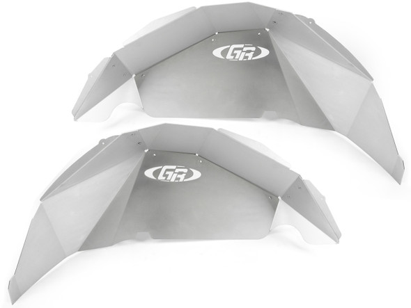 Genright Jeep JL Aluminum Rear Inner Fenders (Silver) - TFR-10SIF