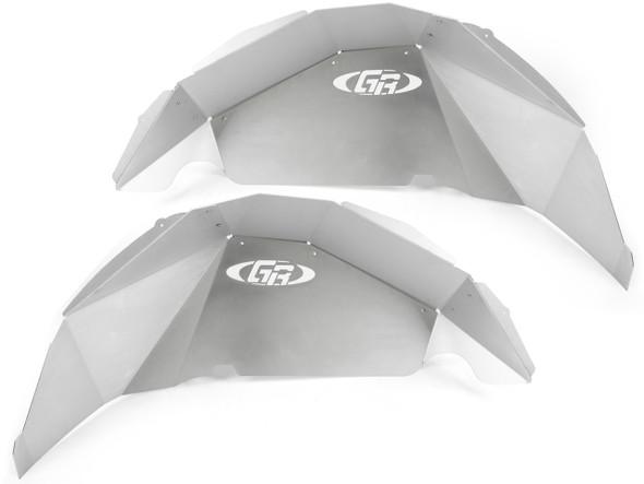 Genright Jeep JL Aluminum Rear Inner Fenders (Silver) - TFR-10SIF