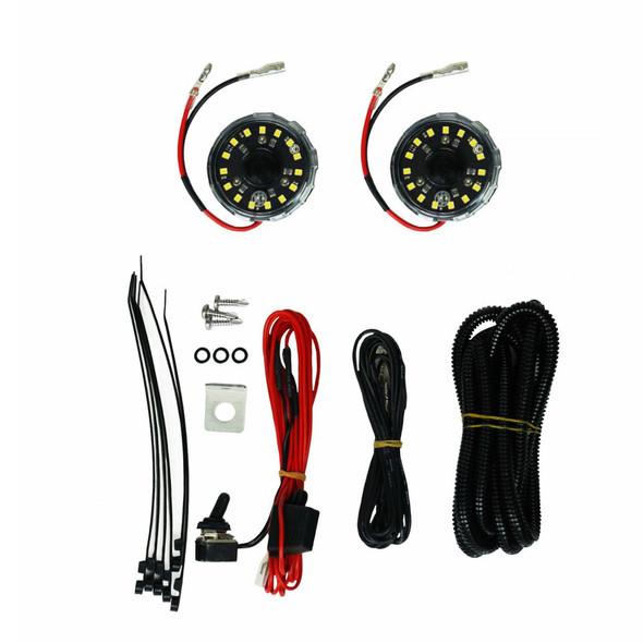 KC HiLiTES Cyclone LED 2-Light Universal Under Hood Lighting Kit - KC #355