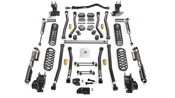 "Teraflex JL 2dr: 4.5"" Alpine CT4 Long Arm Suspension System – No Shock Absorbers"