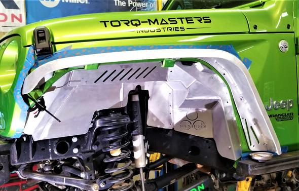 Nemesis Industries Front Inner Fender Liner, Jeep JL, JLU & Gladiator JT