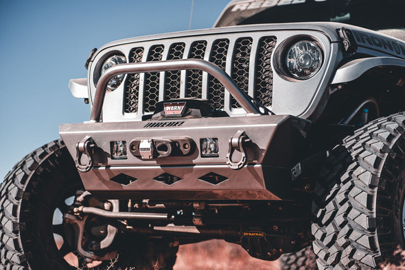 Rebel Off Road Summit Series Front Bumper w/Hoop & Skid  JK/JL/JT