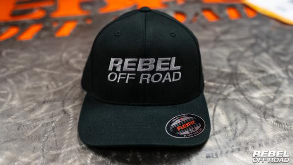 Rebel Off Road #TeamRebel FlexFit Hat (Black)