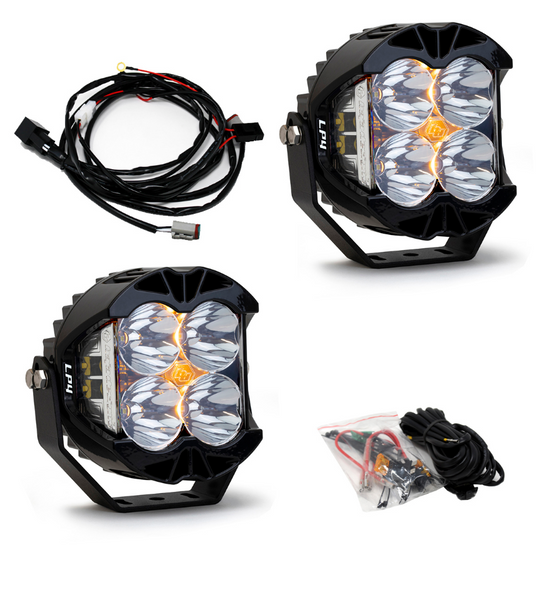 Baja Designs LP4 Pro Spot LED Light White - Pair