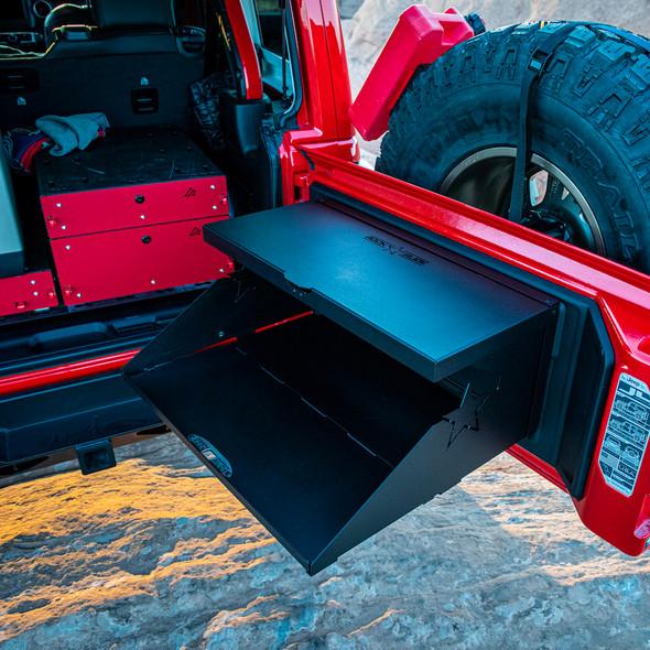 Rock Slide Engineering Tailgate Table, Jeep Wrangler JK /JL - AC-TB-200