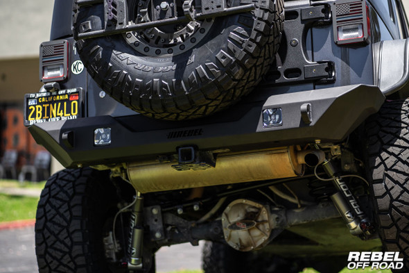 Rebel Off Road Summit Series Rear Bumper For Jeep JK