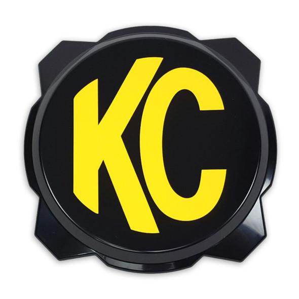 "KC HiLiTES 6"" Pro6 Gravity® Light Cover - Black / Yellow KC Logo"