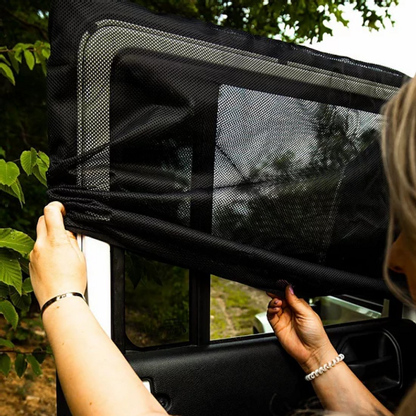 deepsleep Jeep Wrangler Window Screen Set