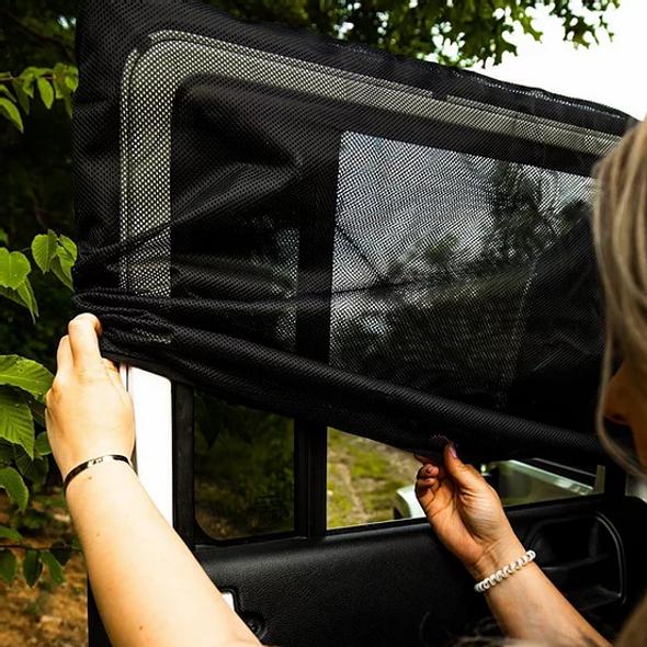 deepsleep Jeep Wrangler Window Screen Set