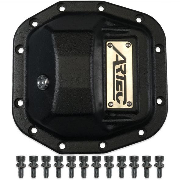 Artec Industries Artec Hardcore Diff Cover for Jeep Wrangler JL M186/D30 Front - AX1018