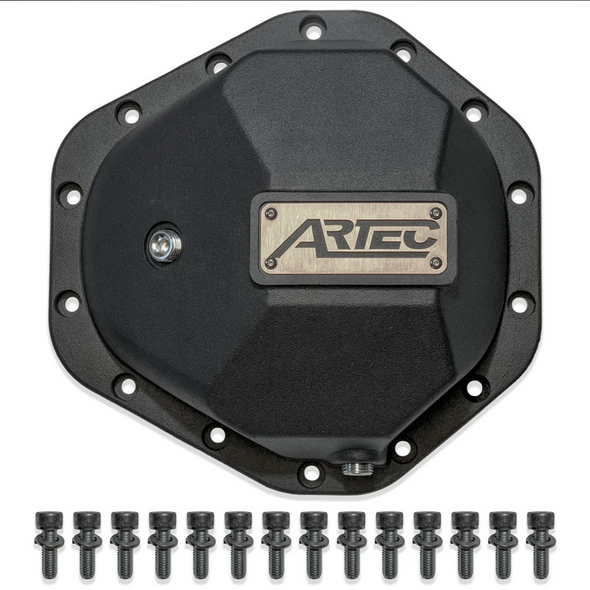 """Artec Industries Artec Hardcore Diff Cover for GM14T with 3/8"""" Bolts - AX1015"""