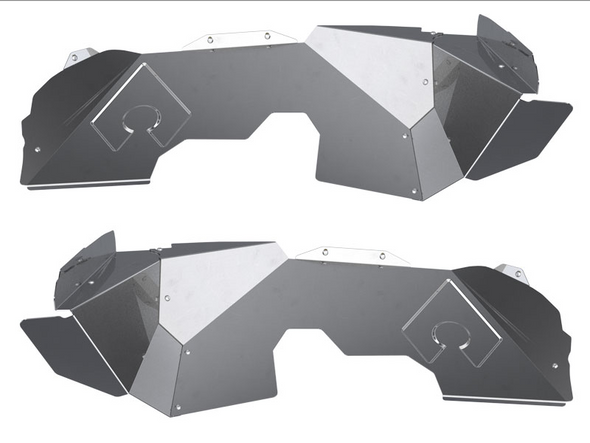 Artec Industries JL Front Inner Fenders - Solid - JL5107